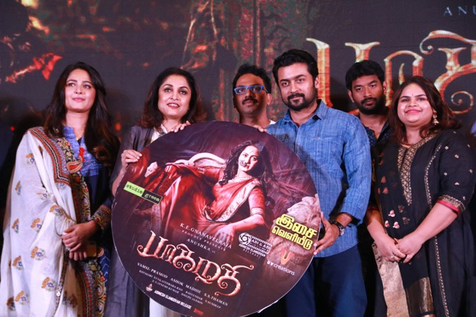 Bhaagamathie Audio Launch Stills (6)